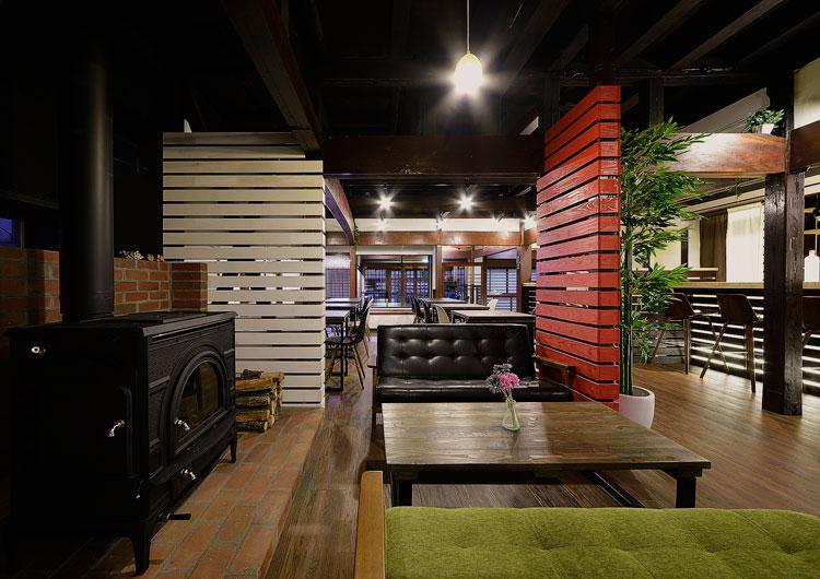薪ストーブの写真 | 長野県のゲストハウス・ホステル ZEN hostal